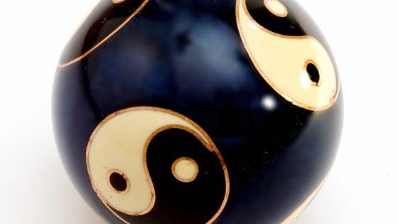 Yin-Yang-Kugel