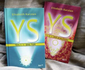 Hardcover-Bücher YS – ein Abenteuerroman in zwei Teilen